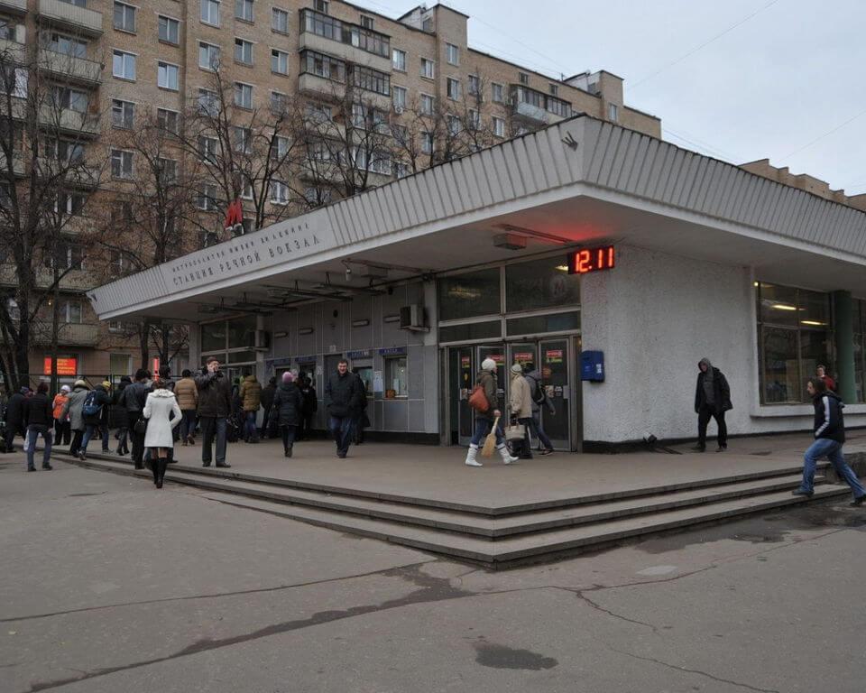 фото речной вокзал метро