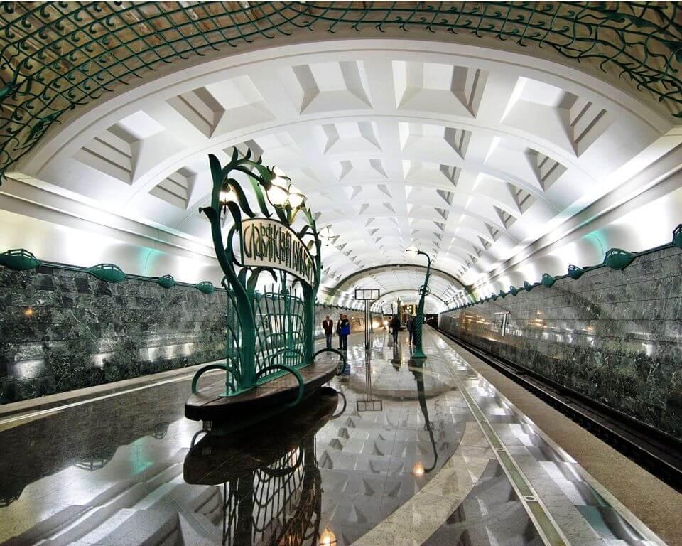 славянский бульвар метро фото потому, что настоящих