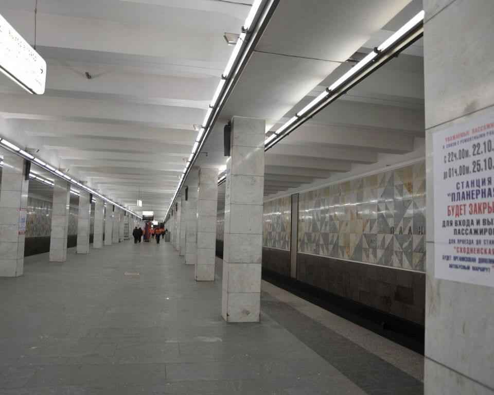 В Москве приостановлено движение поездов на участке «фиолетовой» ветки метро