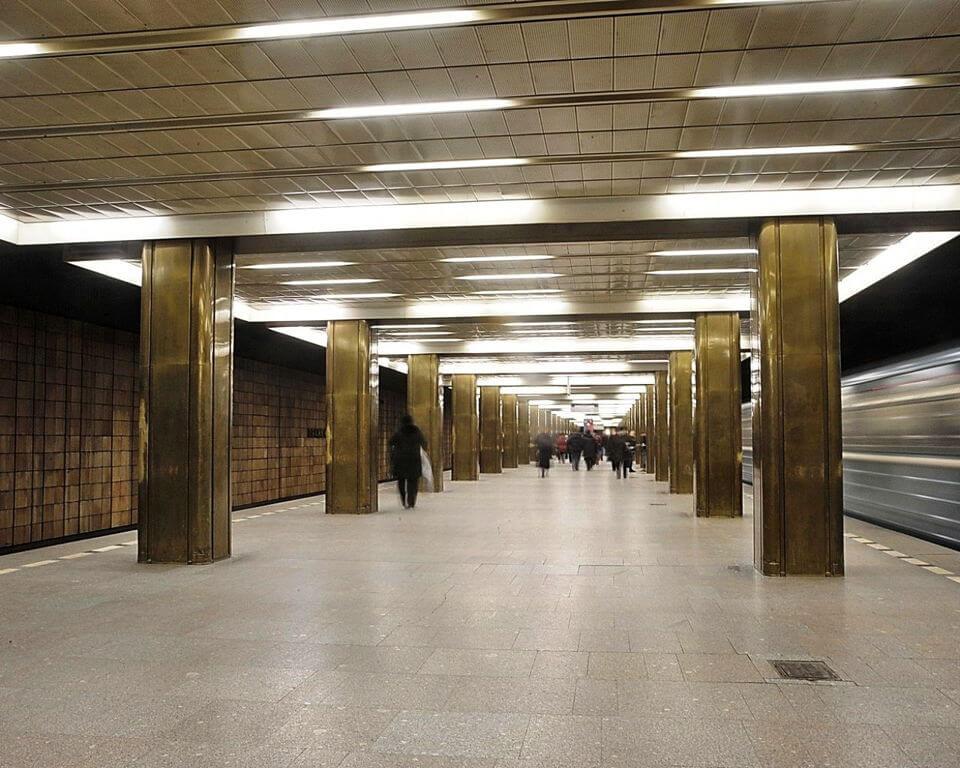 сделать фото метро пражская они год