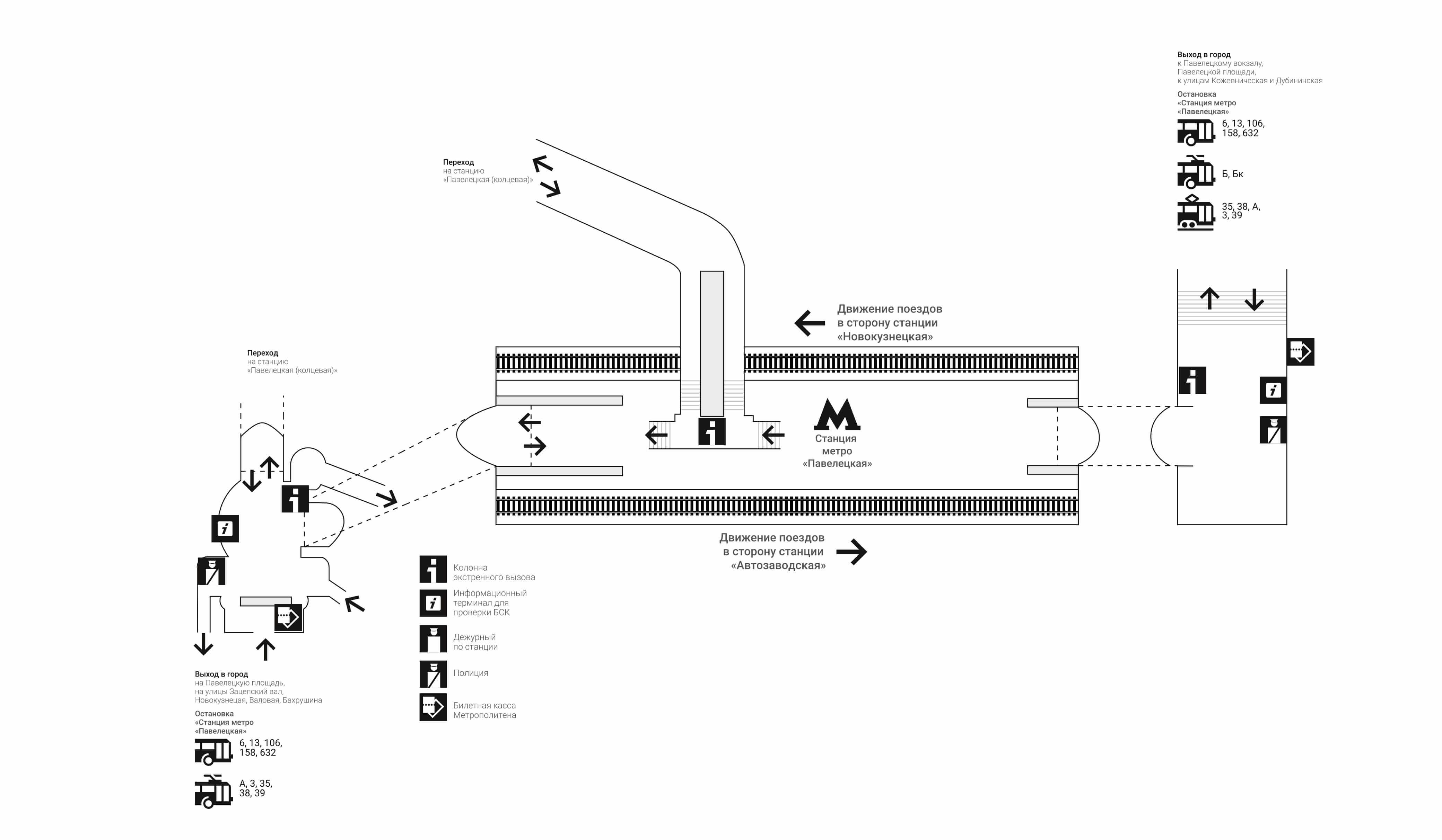 Павелецкий вокзал станция метро схема фото 553